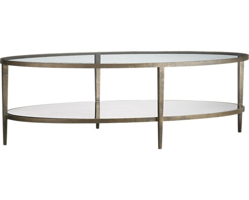 Oval Glass Top Coffee Table very well within Oval Glass Coffee Tables (Image 19 of 20)