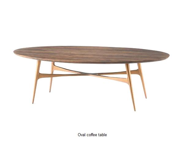 Oval Walnut Coffee Table Idi Design clearly inside Oval Walnut Coffee Tables (Image 14 of 20)