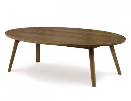 Oval Walnut Coffee Table Idi Design good intended for Oval Walnut Coffee Tables (Image 15 of 20)