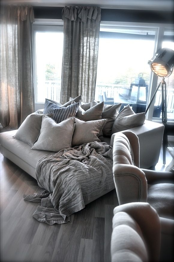 Oversized Couch On Pinterest Big Coffee Tables Couch And Oversized Definitely Inside Oversized Sofa Pillows (View 16 of 20)
