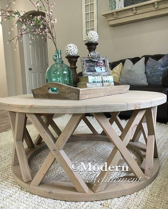 Oversized Round Coffee Table Starrkingschool properly with Oversized Round Coffee Tables (Image 16 of 20)