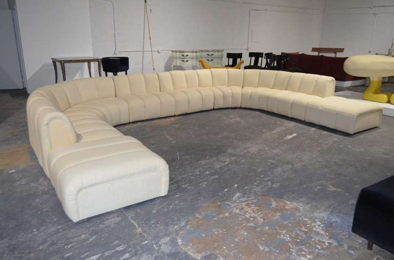 Oversized Sectional Couch Ushaped Sectional Sofas Youu0027ll Love properly within Huge Sofas (Image 19 of 20)