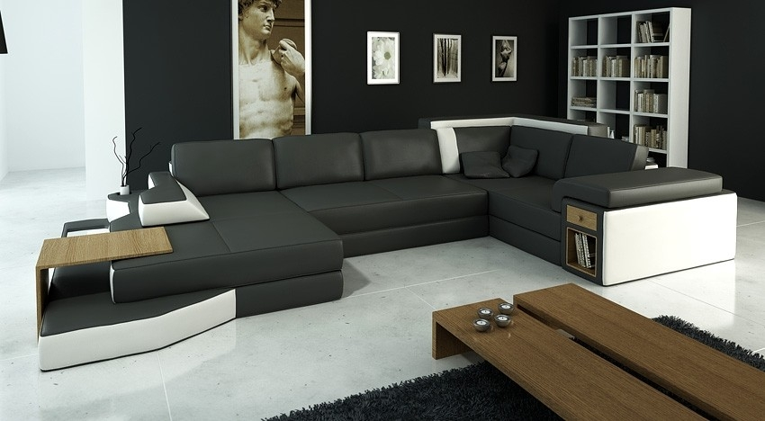 Oversized Sectional Sofas very well with regard to Extra Large Sectional Sofas (Image 19 of 20)