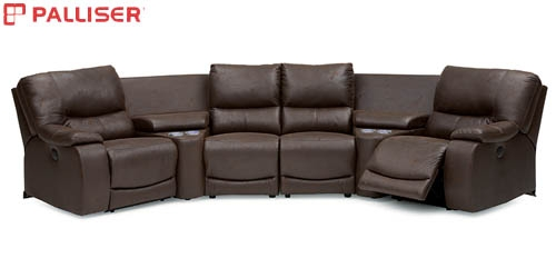 Palliser Norwood Sectional Sofa Seating nicely with regard to 45 Degree Sectional Sofa (Image 12 of 20)