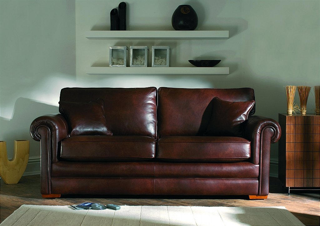 Parker Knoll Canterbury Sofa clearly within Canterbury Leather Sofas (Image 14 of 20)