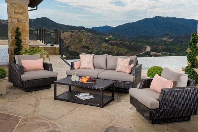 Patio And Outdoor Furniture Sets Rst Brands very well regarding Outdoor Sofa Chairs (Image 13 of 20)