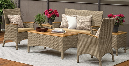 Patio Furniture Accessories Amazon effectively pertaining to Outdoor Sofa Chairs (Image 14 of 20)