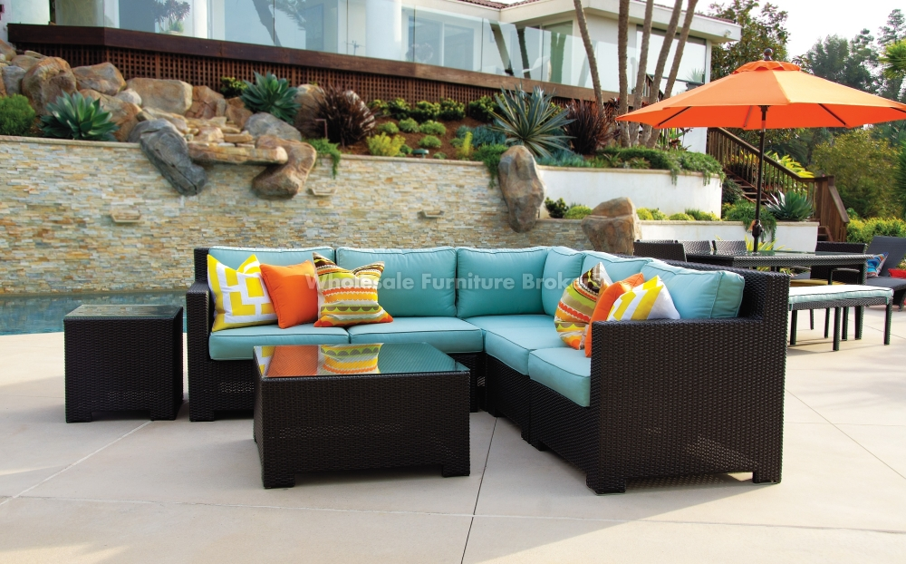 Patio Outstanding Outdoor Patio Sectional Furniture Sets Ideas very well with Cheap Patio Sofas (Image 16 of 20)