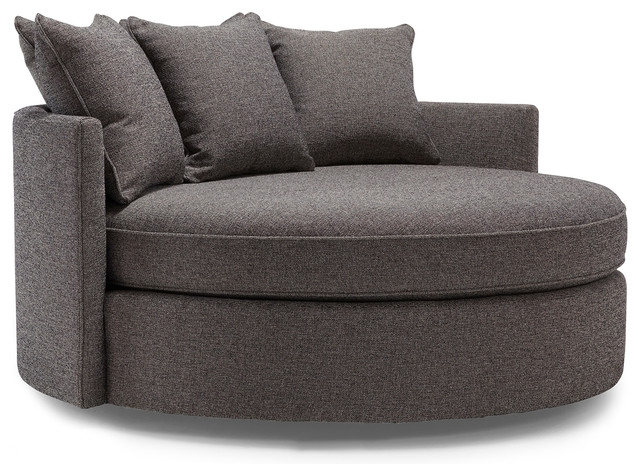 Picturesque Design Ideas Round Sofa Chair Delta Circle Sofa certainly regarding Circle Sofa Chairs (Image 11 of 20)