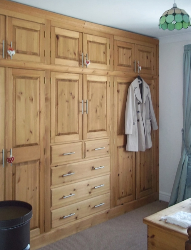 Pine And Oak Fitted Wardrobes Hedgehog Furniture nicely pertaining to Fitted Wooden Wardrobes (Image 26 of 30)