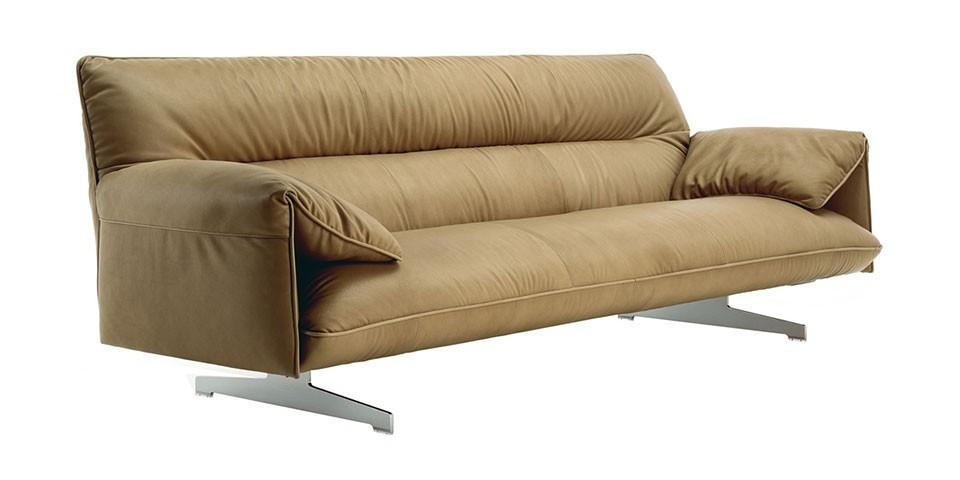 Poltrona Frau Antohn Three Seater Sofa Online Furniture Stores Effectively Pertaining To Three Seater Sofas (View 15 of 20)