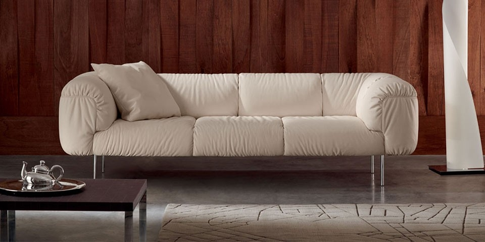Poltrona Frau Bebop Three Seater Sofa The Longest Stay properly in Three Seater Sofas (Image 15 of 20)