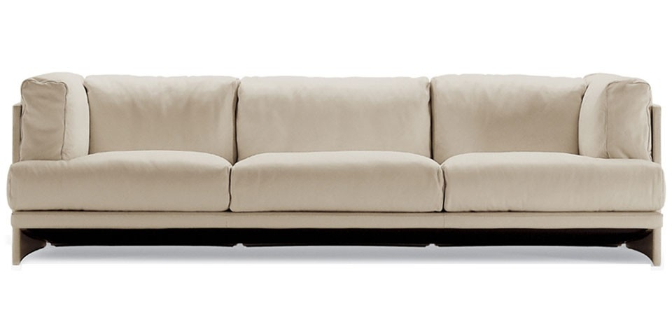Poltrona Frau Polo Three Seater Sofa The Longest Stay well regarding Three Seater Sofas (Image 16 of 20)