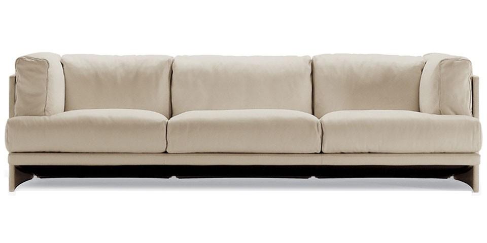 Poltrona Frau Polo Three Seater Sofa The Longest Stay Well Regarding Three Seater Sofas (View 4 of 20)