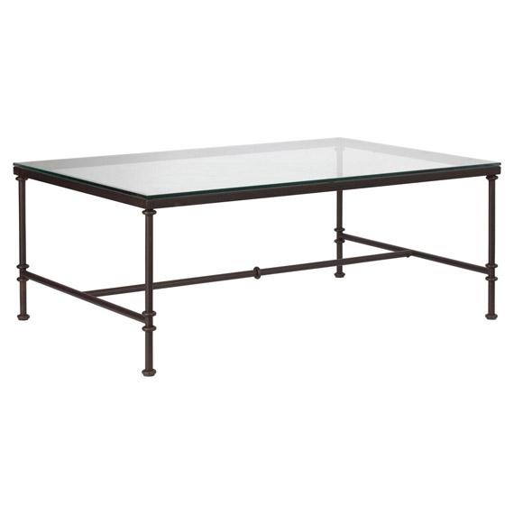 Pompidou Metal Glass Coffee Table Small Oka Well Regarding Metal And Glass Coffee Tables (View 4 of 20)