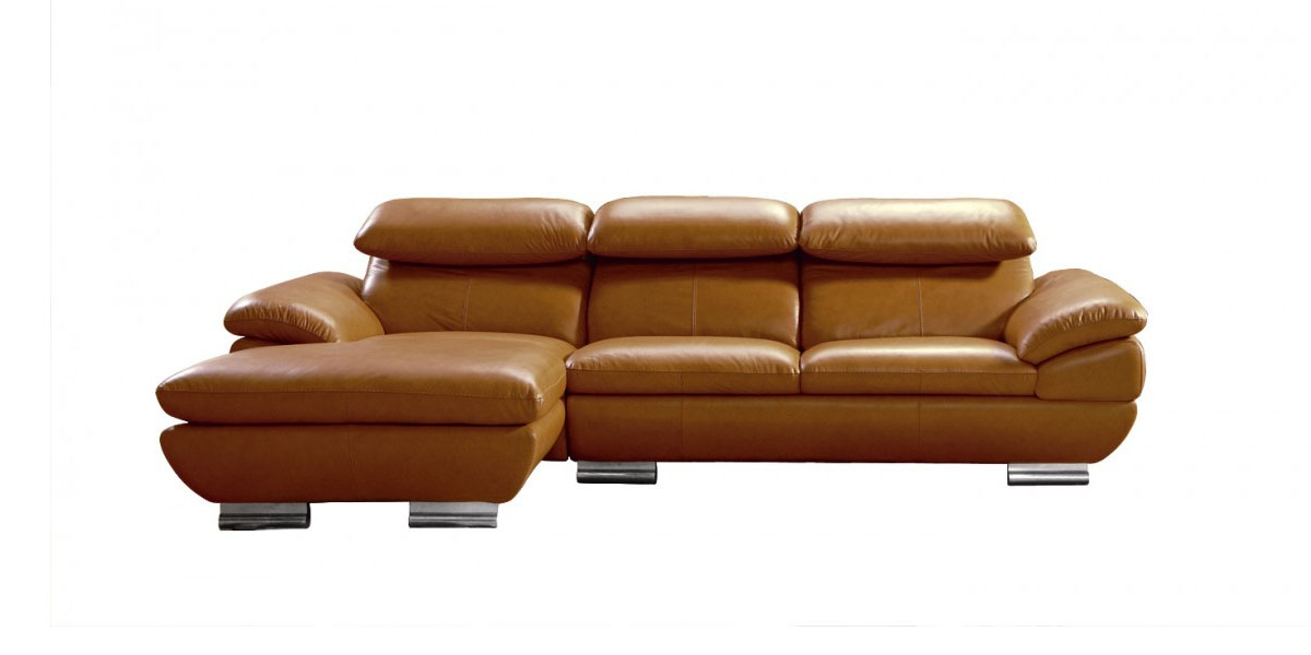 Popular Curved Leather Sectional Sofa And American Made Leather very well in American Made Sectional Sofas (Image 12 of 20)