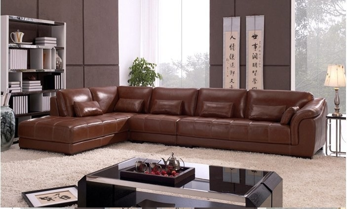 Popular L Shape Sofa Set Designs Buy Cheap L Shape Sofa Set well pertaining to Leather L Shaped Sectional Sofas (Image 19 of 20)