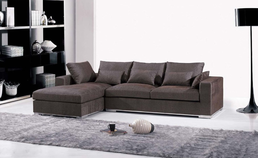 Popular L Shaped Fabric Sofas Buy Cheap L Shaped Fabric Sofas Lots Good Regarding L Shaped Fabric Sofas (View 2 of 20)