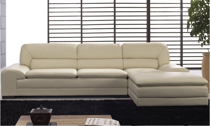 Popular Leather Corner Chaise Buy Cheap Leather Corner Chaise Lots very well in Sofas With Chaise Longue (Image 12 of 20)