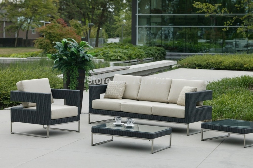Popular Rattan Patio Sofa Buy Cheap Rattan Patio Sofa Lots From very well throughout Cheap Patio Sofas (Image 20 of 20)