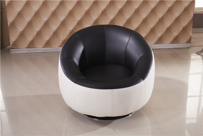Popular Round Leather Sofa Buy Cheap Round Leather Sofa Lots From most certainly within Circle Sofa Chairs (Image 13 of 20)