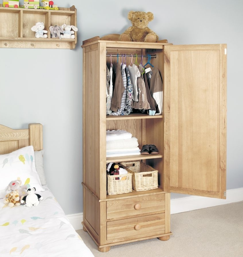 Present Daze Furniture Gifts effectively regarding Double Rail Childrens Wardrobes (Image 7 of 30)