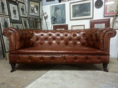 Pretty Sure I Already Reblogged This Buuuuut This Is Like My Dream perfectly in Victorian Leather Sofas (Image 8 of 20)