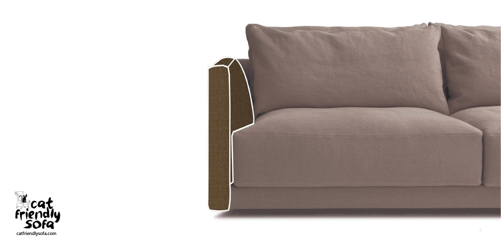 Protection For Sofas And Armchairs Cat Friendly Sofa Intended most certainly within Sofa Arm Chairs (Image 19 of 20)