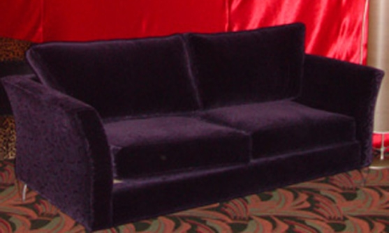 Purple Velvet Couch well pertaining to Velvet Purple Sofas (Image 14 of 20)