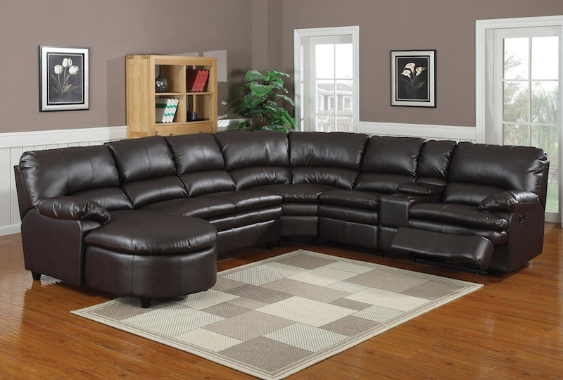 Quality Sofas Mattresses Furniture Warehouse Direct Chula clearly within 6 Piece Leather Sectional Sofa (Image 9 of 20)