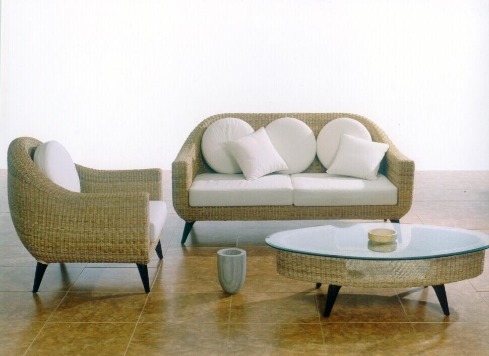 Rattan Furniture Provides Classic And Timeless Design Master Well For Modern Rattan Sofas (View 19 of 20)