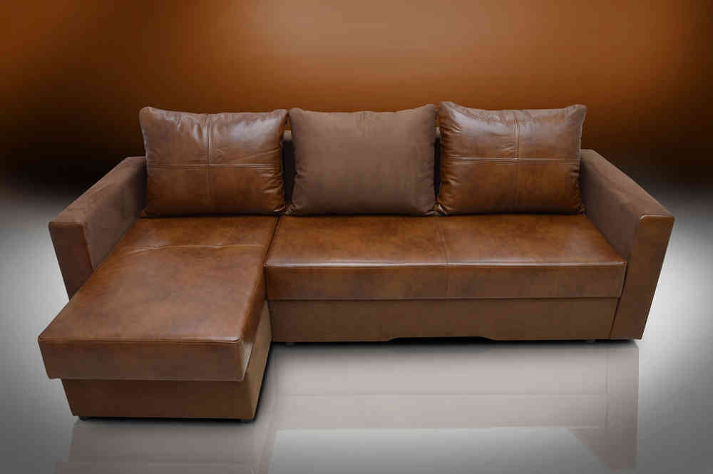 Real Leather Bristol Corner Sofa Bed well throughout Corner Sofa Bed Sale (Image 15 of 20)
