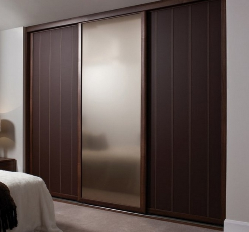 Real Wood Sliding Wardrobe Doors Contemporary Wardrobe Solid Wood effectively inside Solid Dark Wood Wardrobes (Image 28 of 30)