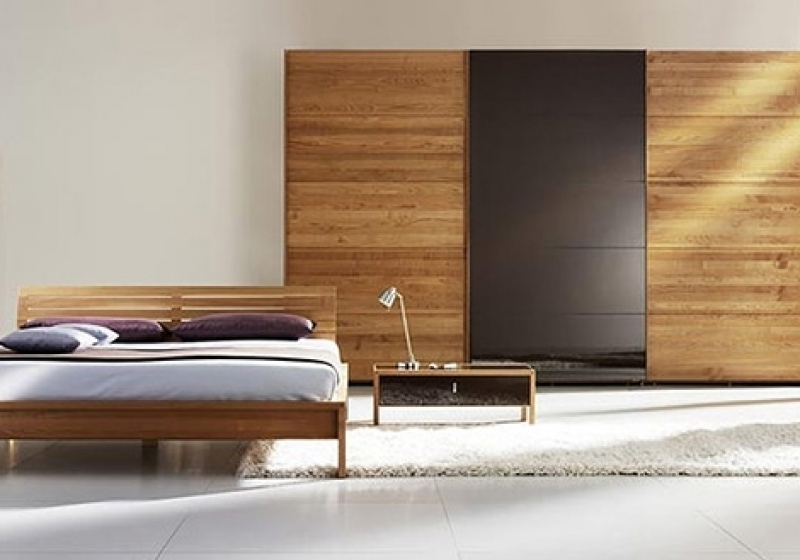 Real Wood Sliding Wardrobe Doors Contemporary Wardrobe Solid Wood properly within Solid Wood Fitted Wardrobe Doors (Image 28 of 30)