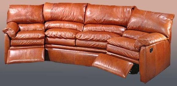 Reclining Sofa Sectional Leather Sofa Luxury Furniture perfectly for Full Grain Leather Sofas (Image 16 of 20)