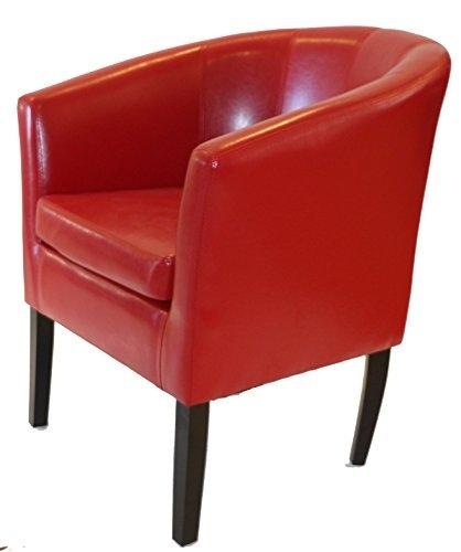 Red Chair Amazon nicely pertaining to Red Sofa Chairs (Image 13 of 20)