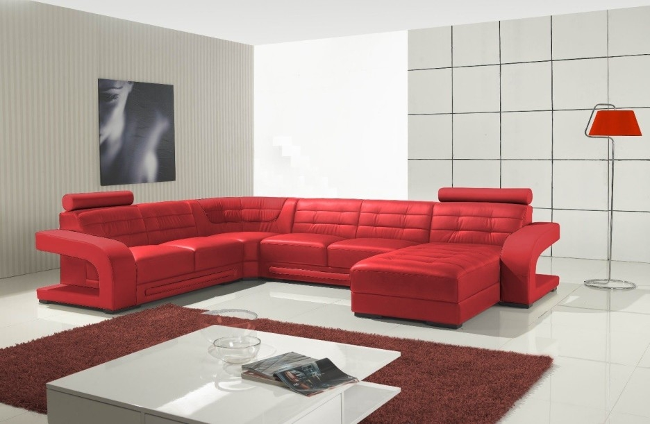 Red Sectional Sleeper Sofa Hotelsbacau certainly within Red Sectional Sleeper Sofas (Image 9 of 20)