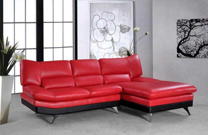 Red Sectional Sleeper Sofa Tourdecarroll effectively in Red Sectional Sleeper Sofas (Image 10 of 20)