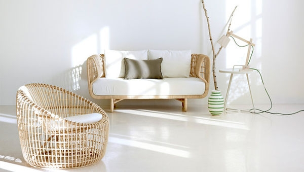 Refreshingly Modern Rattan Furniture Nest Collection Cane Line clearly with Modern Rattan Sofas (Image 18 of 20)