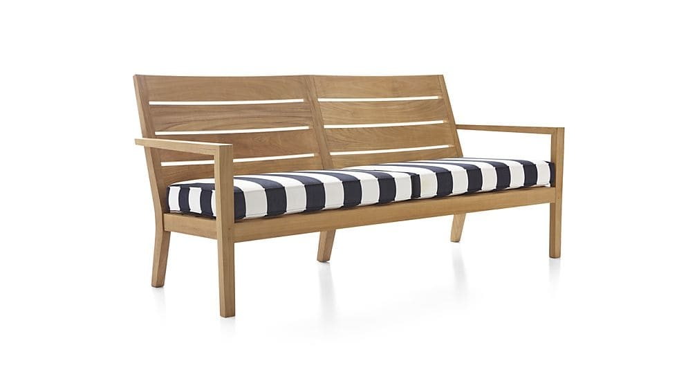 Regatta Sunbrella Sofa Cushions Crate And Barrel properly pertaining to Sofa Cushions (Image 16 of 20)