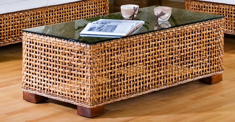 Remarkable Wicker Coffee Table Concentric Coffee Table Z Gallerie Clearly With Coffee Table With Wicker Basket Storage (View 20 of 20)