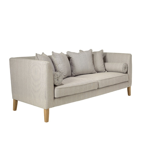 Renzo 3 Seater Sofa Oka Most Certainly Inside Three Seater Sofas (View 19 of 20)