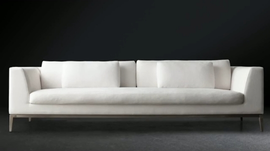 Restoration Hardware Is Going Modern In A Big Way With Rh Modern certainly within Long Modern Sofas (Image 19 of 20)