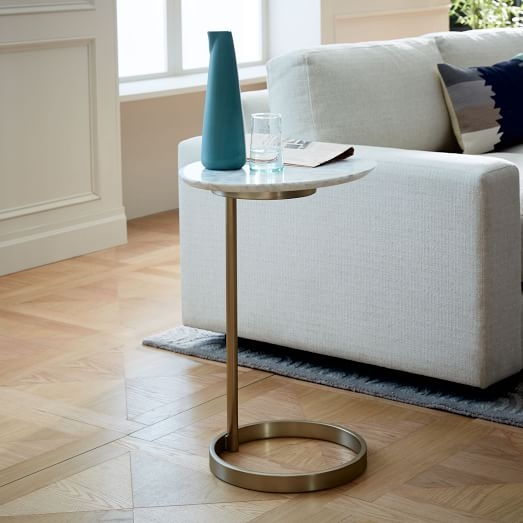 Ring C Side Table West Elm perfectly regarding C Coffee Tables (Image 19 of 20)