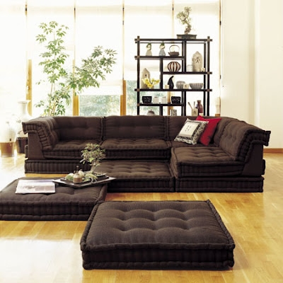 Roche Bobois Floor Cushion Seating Inspiration Decorating 39778 very well with regard to Floor Cushion Sofas (Image 17 of 20)