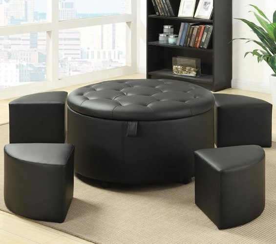 Round Coffee Table With Nesting Stools Coffee Table Stools good with Coffee Tables With Nesting Stools (Image 19 of 20)