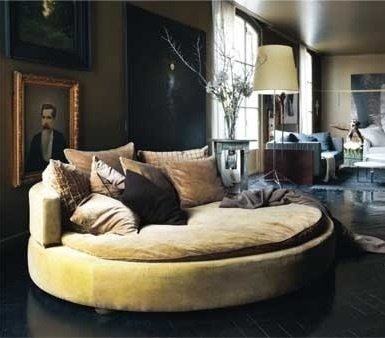 Round Couch Chair Would Love To Have For Hub I This One clearly pertaining to Big Round Sofa Chairs (Image 14 of 20)