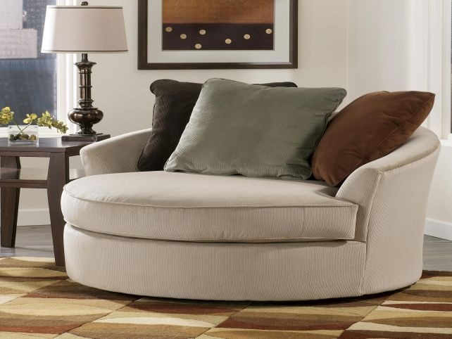Round Sofa Chair I Wish I Had One Of These In White Perfect Nicely Throughout Round Sofa Chairs (View 12 of 20)
