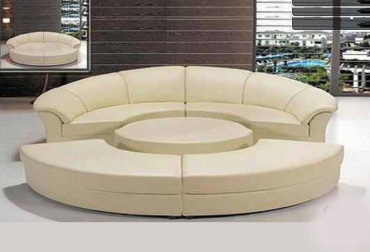 Round Sofas Chairs Sofa Buy Cheap Round Leather Sofa Lots From very well inside Circle Sofa Chairs (Image 16 of 20)