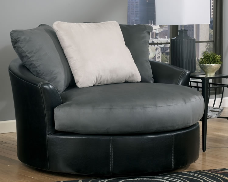 Round Swivel Cuddler Chair Jen Joes Design How To Build Very Well Regarding Round Sofa Chairs (View 7 of 20)